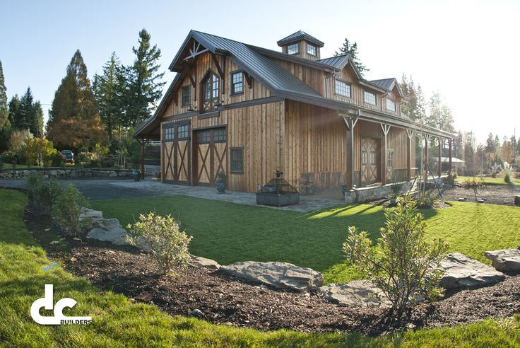 17 best ideas about shop with living quarters on pinterest for Barn builders oregon