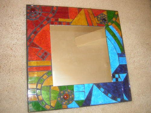 The 101 best Mirrors images on Pinterest | Mosaic, Mosaic mirrors ...