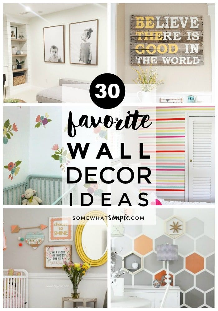 30 Best Wall Decor Ideas For Any Budget Simple Wall Decor Wall