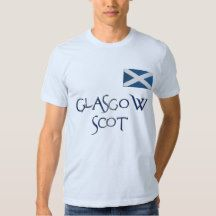 Glasgow FLAG OF SCOTLAND Patriotic T-Shirt