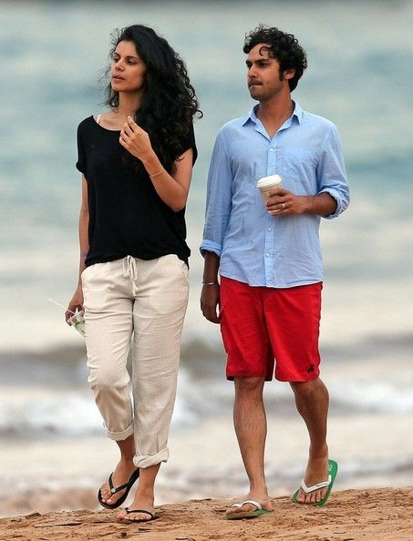 Image result for Kunal Nayyar wife