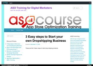Dropshipping business guide 2017 PDF  Combined eCommerce business in 2017 including Shopify, Oberlo, and Aliexpress http://asotraining.edublogs.org/tag/dropshipping-business/