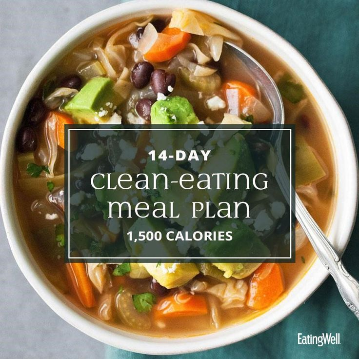 14-Day Clean-Eating Meal Plan: 1,500 Calories – What to cook
