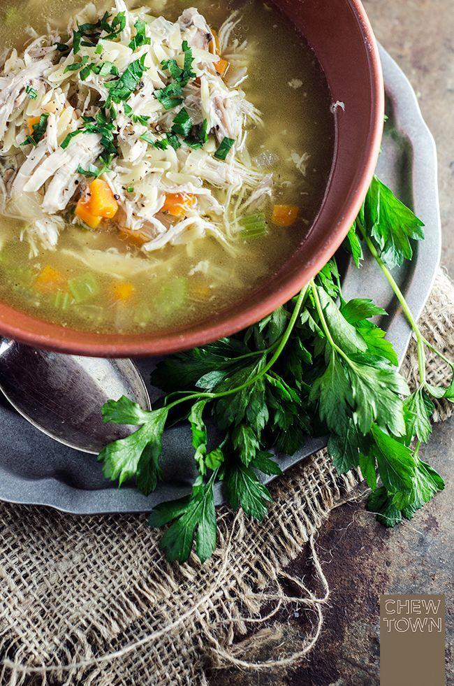Brodo di Pollo – Italian Chicken Soup