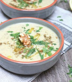 [Soup of the Week] Zucchini-Walnuss-Suppe   WhatInaloves ❤   Bloglovin'