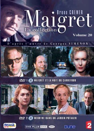 Комісар Мегре (Сезон 1) / Maigret (Season 1) (1991-2004) DVDRip [uk,fr]