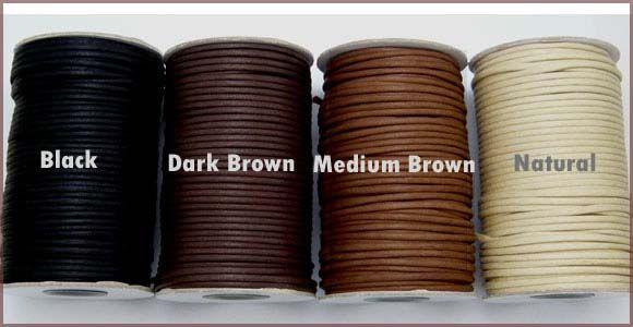 ワックスコード 3mm 綿紐蝋引き巾着紐を最安値激安割引値引き卸価格で安い極太い手芸、巾着紐を格安販売 | 卸値通販 ゼネガー