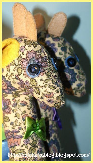 Hafciarka: Dwie żyrafy