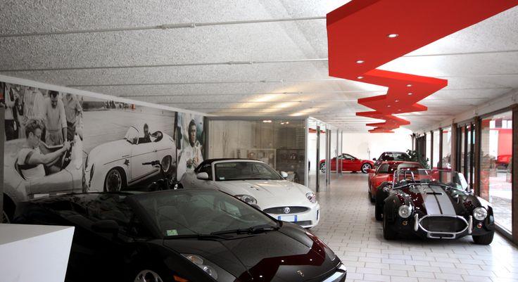 Car Showroom a Parma, Italia (ReCS Architects: Pier Maria Giordani ▪ 2012)