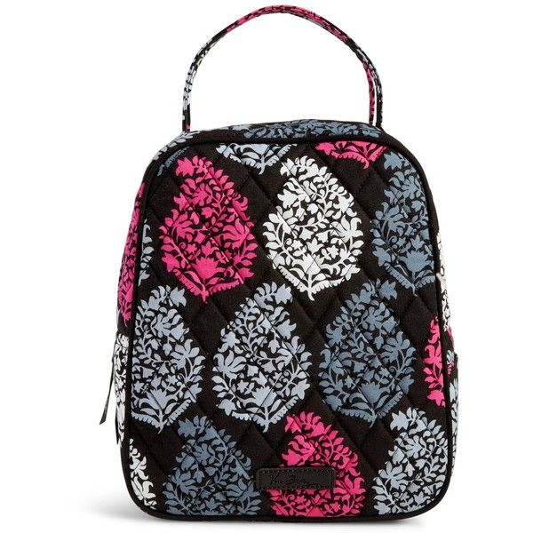 Vera Bradley Lunch Bunch Bag in Northern Lights ($34) ❤ liked on Polyvore featuring home, kitchen & dining, food storage containers, northern lights, lunch sack, vera bradley, brown lunch bags, lunch bags and vera bradley lunch bag