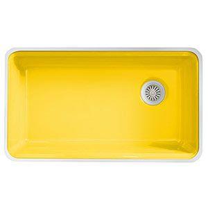 yellow sink