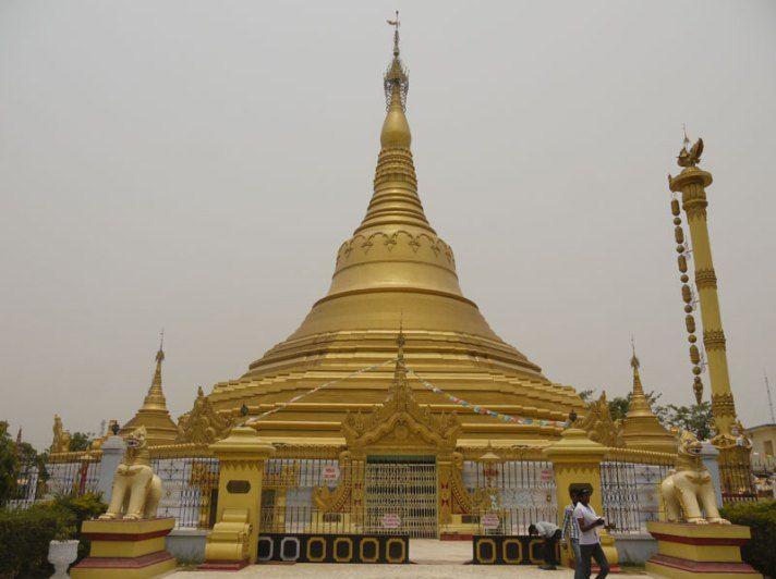 Welcome to India! First Stop, Kushinagar; Where The Buddha Passed Away