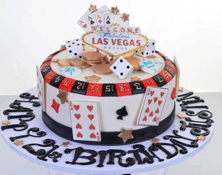 Casino Inspired Cakes