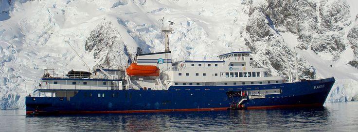 m/v Planvius in Antarctica