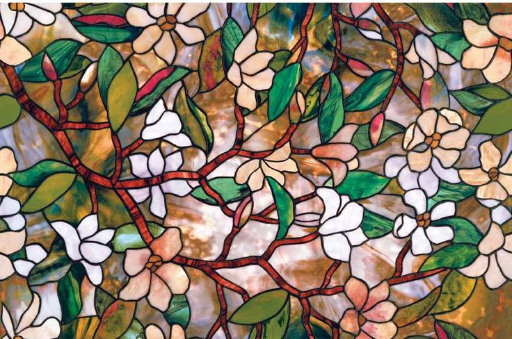 Artscape Magnolia Natural Flower Bedroom Window Film