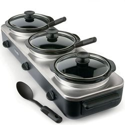 Crockpot Trio Slow Cooker Server
