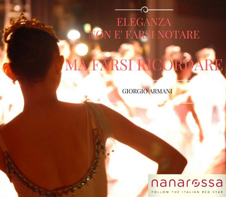 Lasciamo il segno. #citazioni #nanarossa #frasidelgiorno
