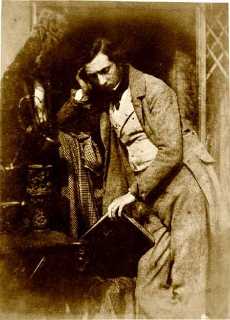 This photograph of James Drummond is a calotype taken by. Hill & Adamson between 1843 and 1847.