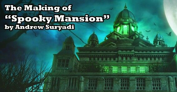 The making of Spooky Mansion in 3ds Max &  photoshop.  Available at www.mementoanimation.com tutorials section