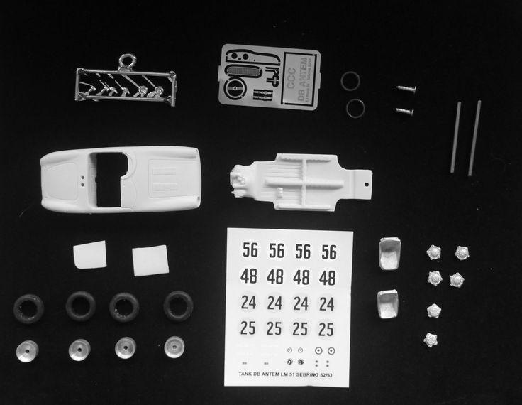 Kit pour miniature auto CCC : DB Panhard Antem Le Mans 1951 référence 181 | Jouets et jeux, Véhicules miniatures, Voitures, camions et fourgons | eBay!