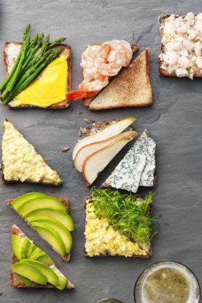 Favorit der Wikinger: Rezept für belegte Brote aus Schweden (Redaktion: Karin Messerli; Fotos: Daniel Valance) Heft 07/13