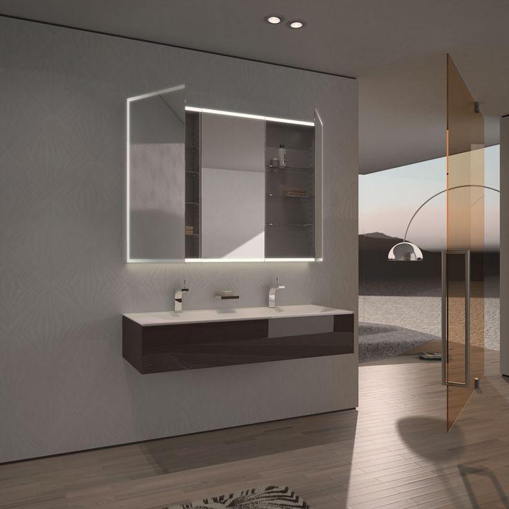 Spiegelschrank Nach Mass Mit Led Credo Badezimmer Spiegelschrank