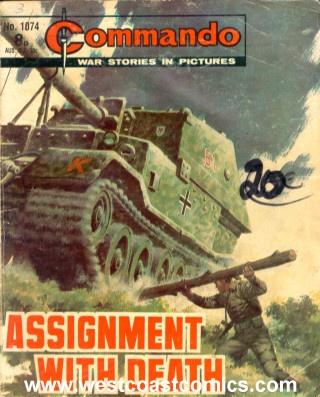 106 best commando comics images on pinterest comic covers comic commando no 1074 assignment with death publicscrutiny Choice Image