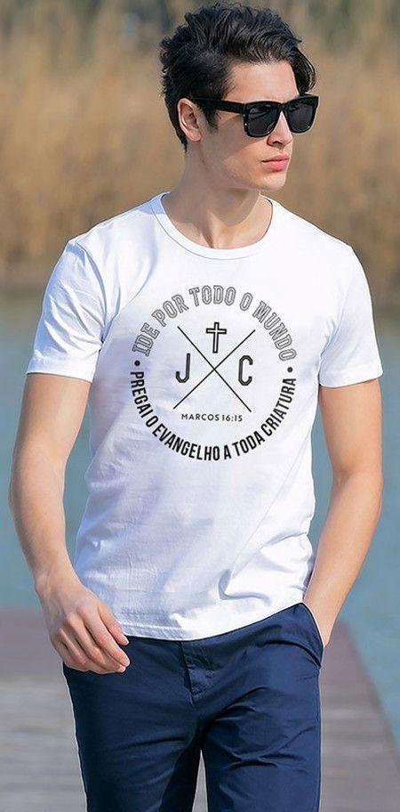 Camiseta Marcos 16:15