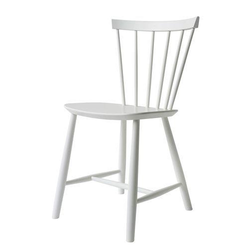 Poul M. Volther stol - J46 - Hvid FDB Møbler - Den største succes i FDB Møblers historie - Coop.dk