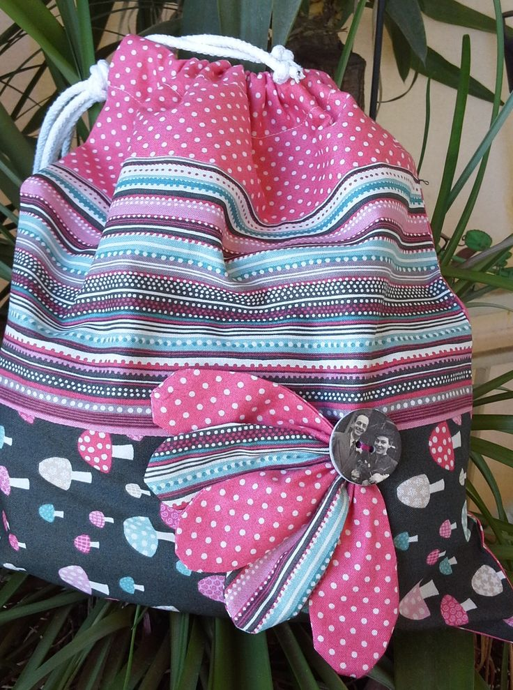 A simple drawstring bag