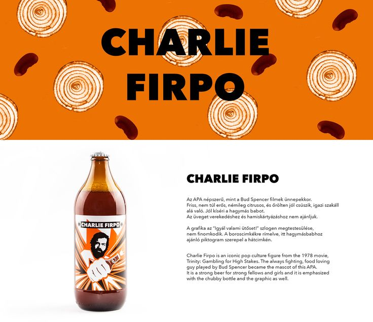 Hedon Craft Brewery Identity - Art Direction on Behance Craft beer identity design inspired by Bud Spencer and chili bean.  Design by Flying Objects