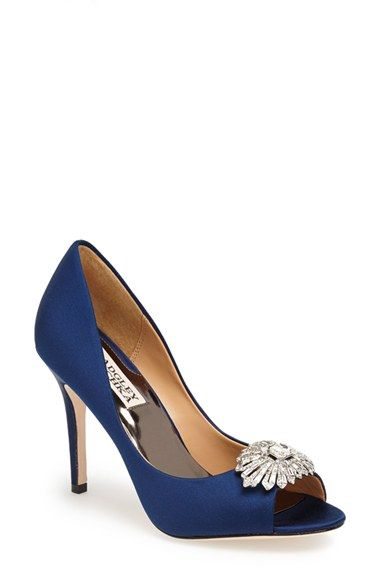 Badgley Mischka 'Hollie' Pump available at #Nordstrom Something Blue!