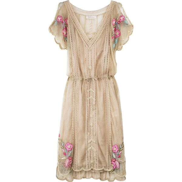 Will some rich buy me this Matthew Williamson lace pearl beaded dress? Please?