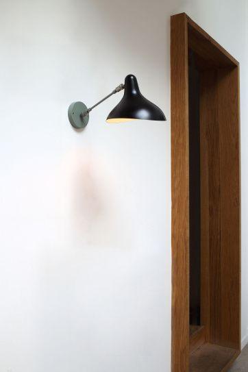 Lampe B.Schottlander Mantis S5 Vägglampa   Artilleriet   Inredning Göteborg