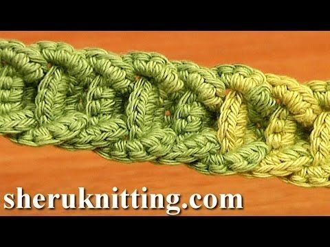 (25) Crochet Braided Cord Tutorial 56 Crochet Belts Necklaces Bracelets - YouTube