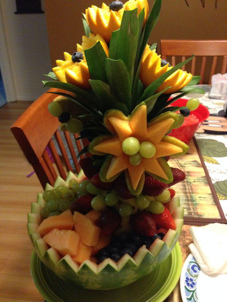 Simple and adorable fruits | Fruit creations, Fruit ...