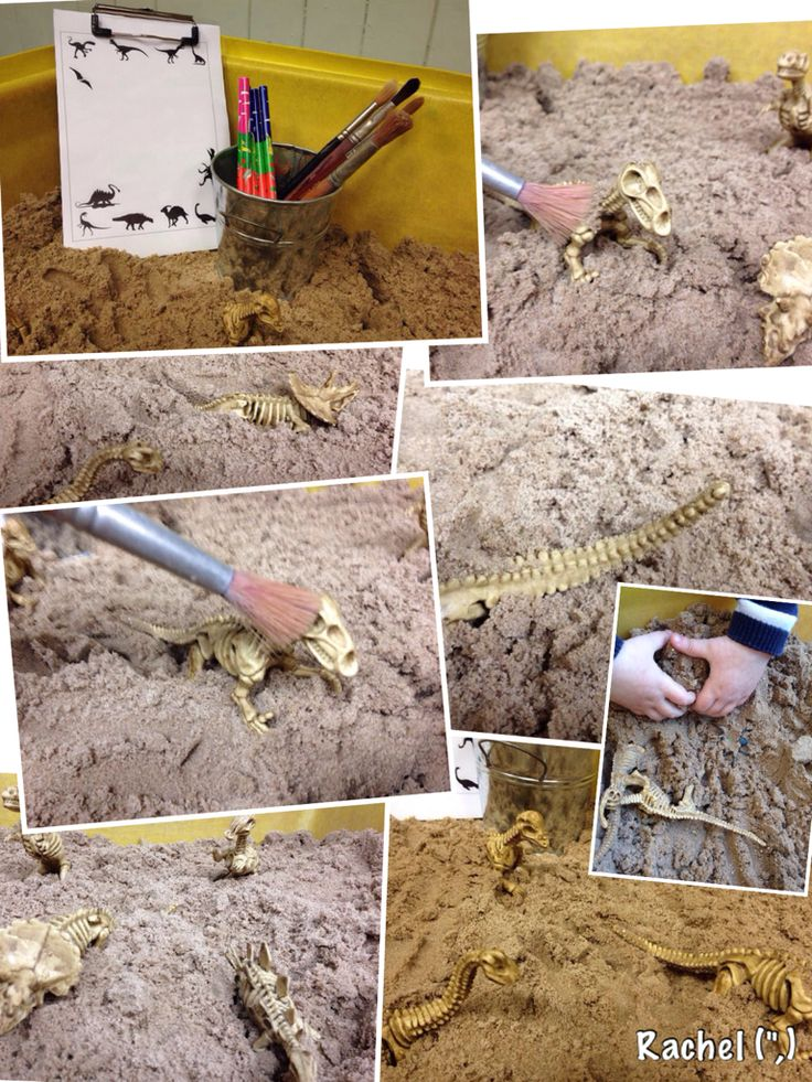 Dinosaur Dig (from Stimulating Learning With Rachel)