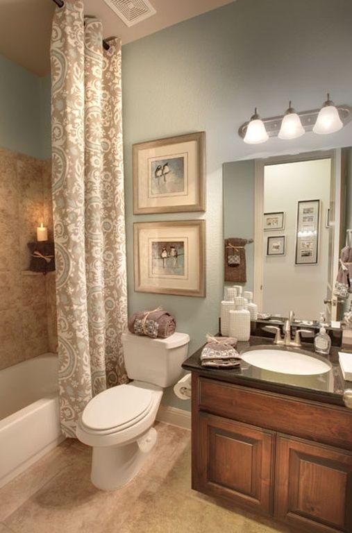 Best 25+ Bathroom shower curtains ideas on Pinterest Shower - guest bathroom decorating ideas