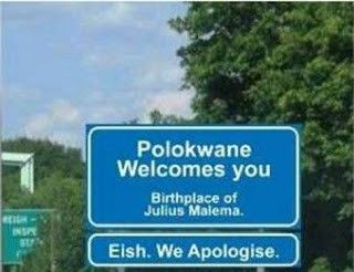 South African humour.