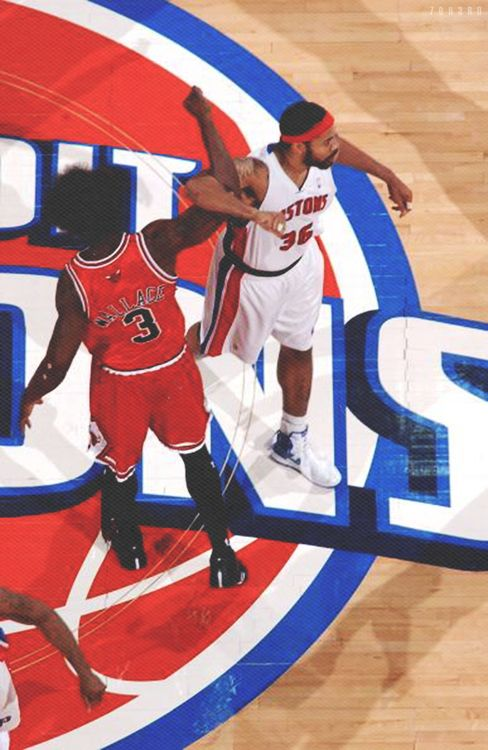 Ben Wallace & Rasheed Wallace - The respect behind their relationship reminds me of a brotherhood.