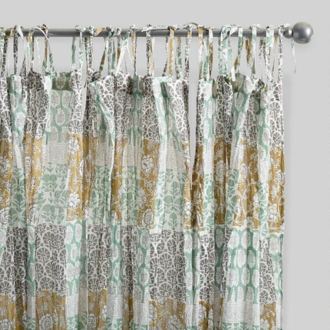 terry cloth shower curtain. Boho Patch Crinkle Cotton Voile Curtains Set of 2 113 best Home  Bathroom Products shower curtains towels images