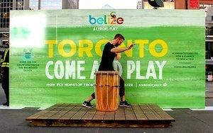 Olson Drums Up New Campaign for Belize Tourism