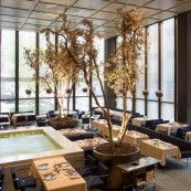 THE FOUR SEASONS RESTAURANT INTERIORS BY PHILIP JOHNSON