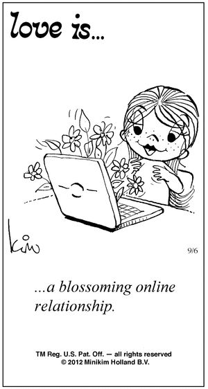 "Love Is Cartoons by Kim Casali | 50 Cute ""Love Is"" Comics by Kim Casali"