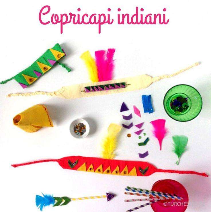 Copricapi indiani- DIY