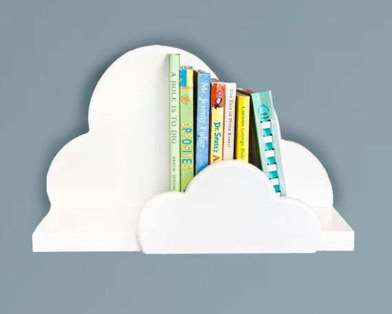 Cloud Wall Shelf Small by ShopLittles on Etsy, $32.50