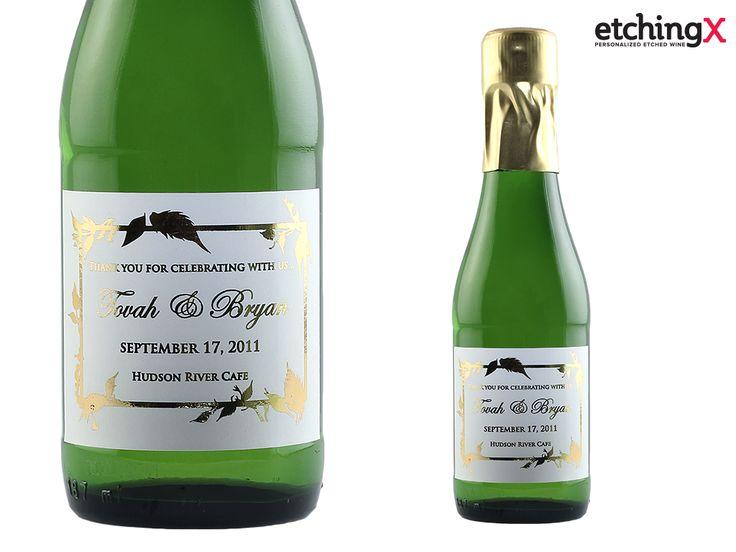 11 best Custom Mini Champagne Bottles images on Pinterest | Mini ...