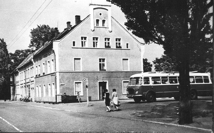 ul. Pstrowskiego Wincentego, Żagań - 1971 rok, stare zdjęcia