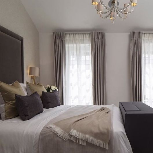11 best images about curtains on pinterest taupe track for Calm and serene bedroom ideas
