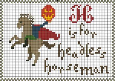 H is for the headless Horseman